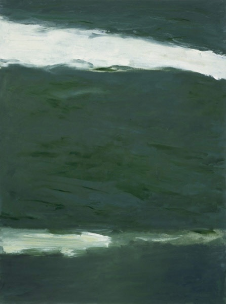 "Raoul DE KEYSER ""Untitled"" (1988) oil on canvas 167 x 124"