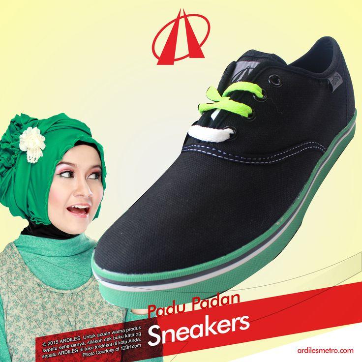 Ardiles Sneakers Lovers, sneakers selama ini dikenal sebagai sepatu cowok. Kalaupun dipakai cewek pasti ceweknya tomboy. Kira-kira seperti itulah pemikiran banyak orang tentang sneakers. Tapi Ardiles Sneakers Lovers, pandangan itu sudah mulai bergeser. Saat ini sneakers sudah banyak dipakai oleh perempuan. Padu padan sneakers dengan busana cewek juga sudah tidak asing lagi. #ARDILESsneakers #sepatuARDILES #ARDILES #indonesia #surabaya #jakarta