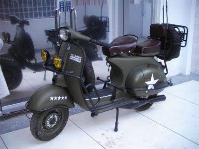 Army Vespa