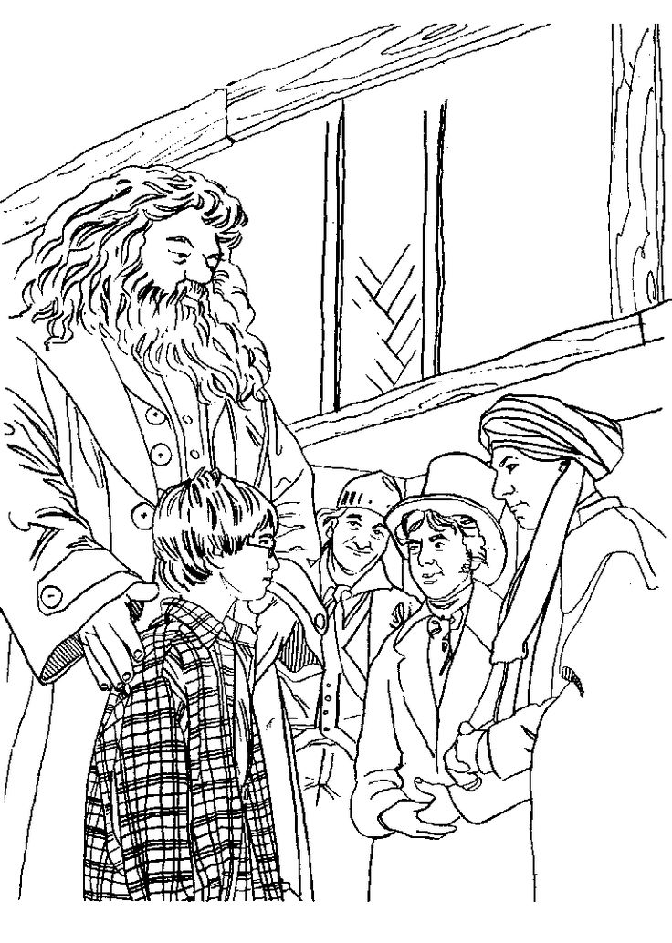 70 best images about Harry Potter: Coloring Pages on ...