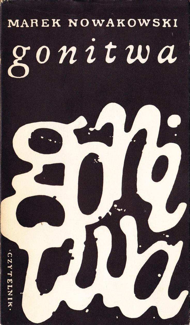 'gonitwa', Warszawa 1967, Cover By Jan Młodożeniec