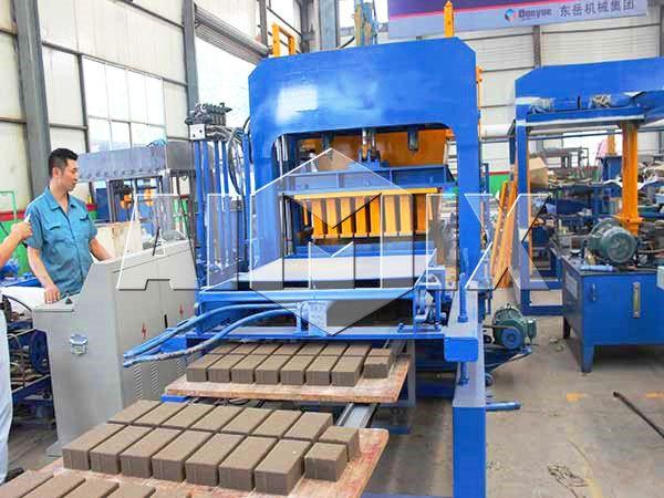 Harga Mesin Cetak Batako Otomatis Produsen Profesional Aimix Solid Brick Making Machine