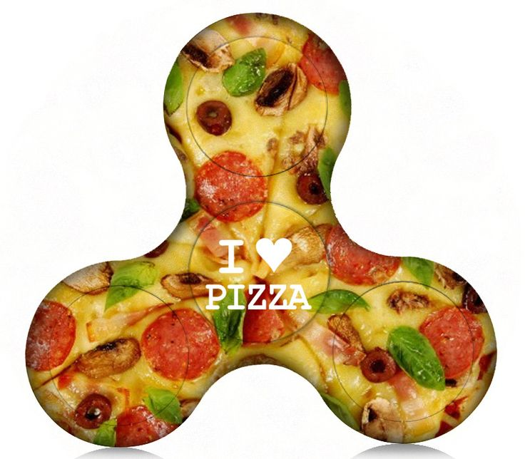 Pizza Someone Plastic Fidget Spinner (Limited Edition)