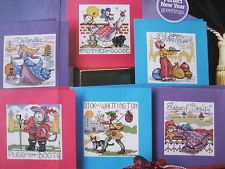 Pantomime Cards The World of Cross Stitching Issue 159  Hardcopy