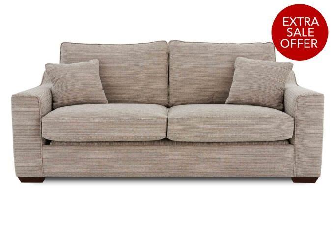 3 seater sofa bed las vegas upholstered furniture at for F furniture village