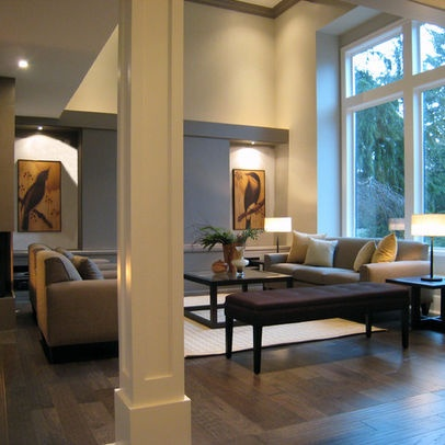Square columns design pictures remodel decor and ideas for Square room interior design review