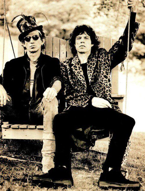 Keith Richards & Mick Jagger - The Rolling Stones