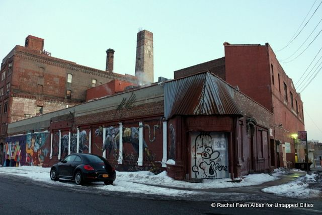 Exit Room NY, a Gallery and Cultural Space Housed in a Former Brewery... Exit Room is a gallery and cultural space in Bushwick, Brooklyn in a former brewery that shows visual art, film productions, poetry and musical performances.