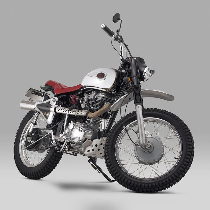 Stunning Royal Enfield Bullet 350 scrambler by Thrive Motorcycle