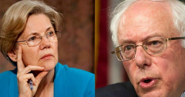 Liberal Democrats Form A Hell No Caucus To Block Republicans In The Senate  #2016 sanders/warren