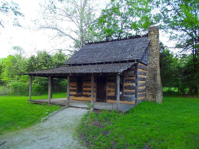 Indiana Places and History: Fowler Pioneer Park - Terre Haute, Indiana