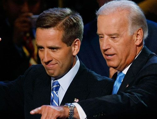 V.P. Joe Biden, Beau Biden: Joe Biden's Son Beau Dies After Losing Battle With Brain Cancer