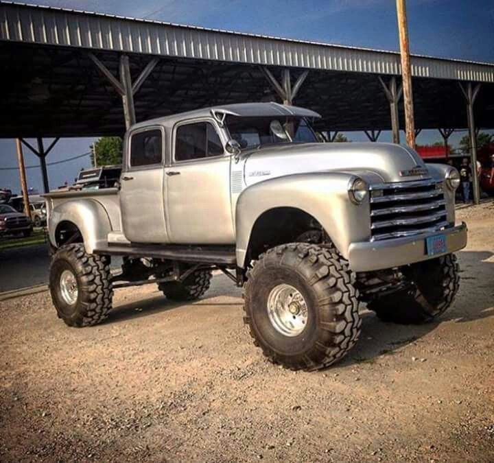 Chevy Crew Cab Pick-Up ♠ Re-pinned By Http://www