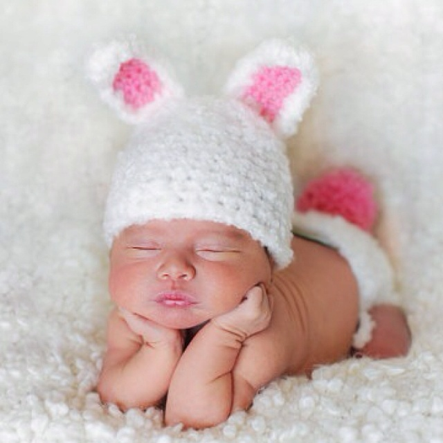 Baby bunny outfit :)