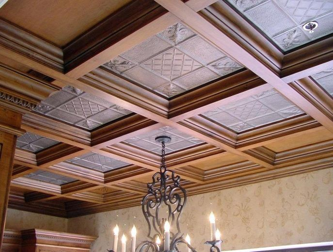 Jazz Up Your Basement Ceiling You Can Do That With Images
