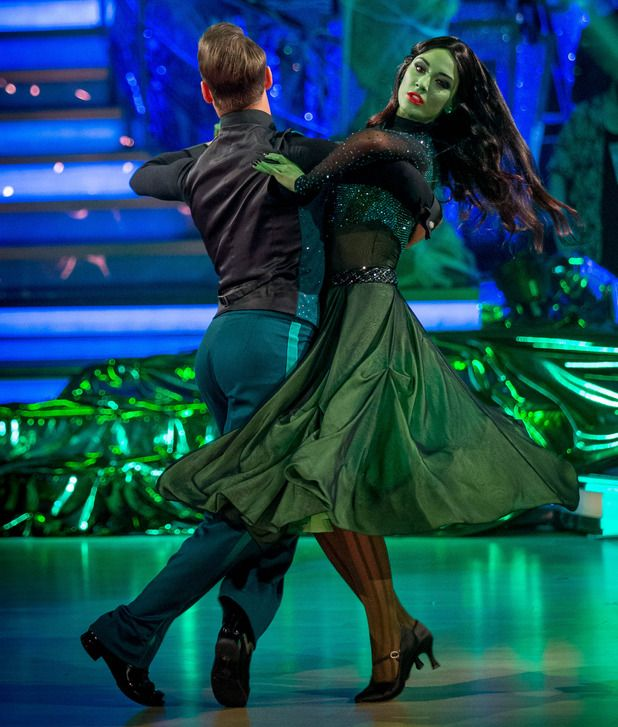 Strictly Come Dancing, Frankie Bridge and Kevin Clifton #waltz #halloween