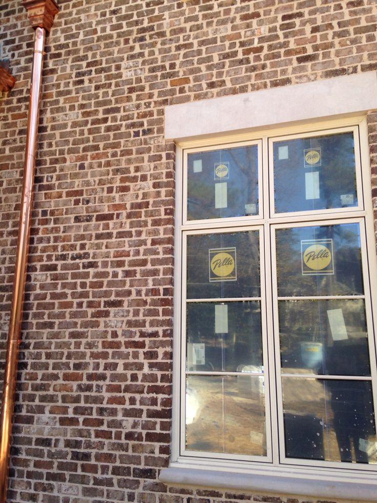 Kiawah Brick Coosa Anti Buff Mortar Brick Close Ups