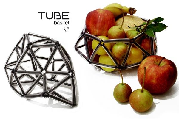 NASTRO. SAY YES TO IT / Tube Basket diametro 22 cm