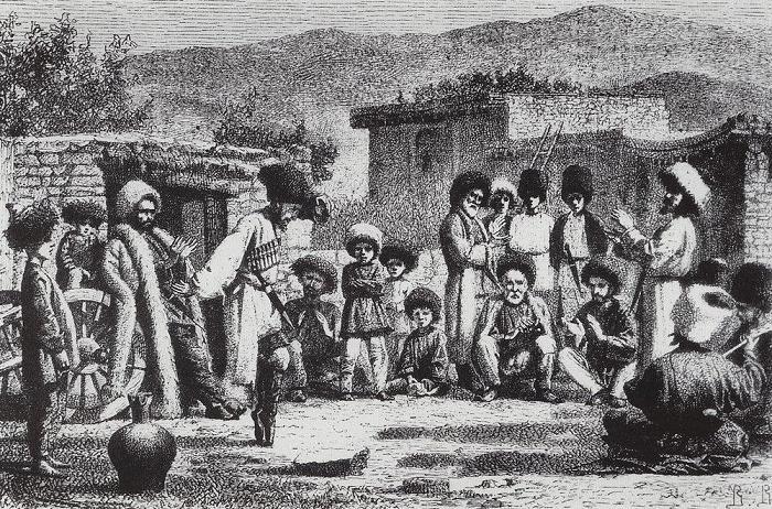 Василий Верещагин Лезгинка 1864-67 г.