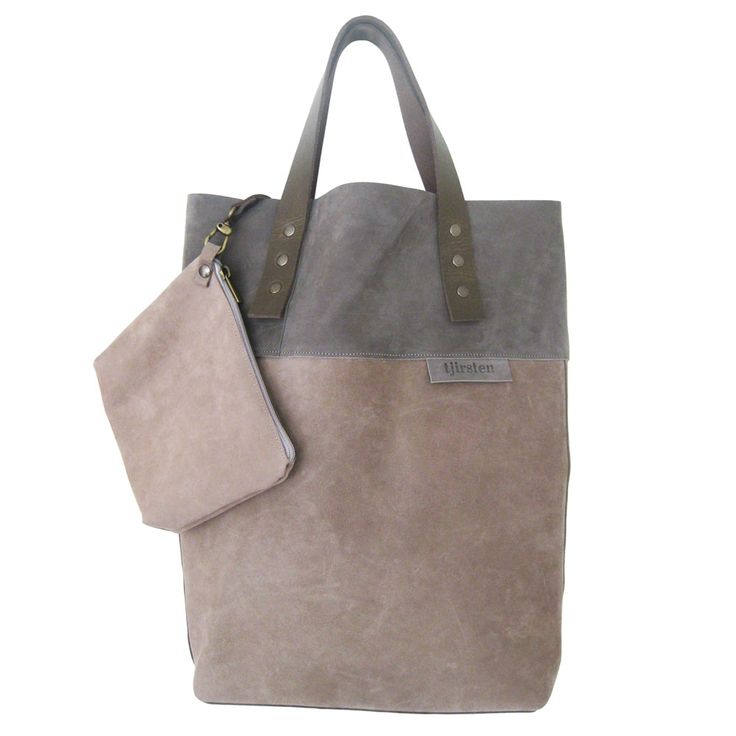 Shopper tote bag by Tjirsten Leather