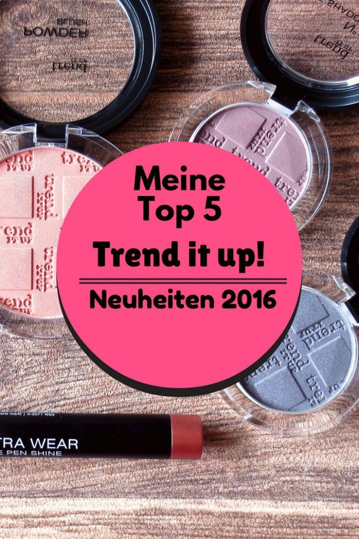 Meine Top 5 Produkte der neuen, größeren trend it up! Theke bei dm Drogerie Deutschland