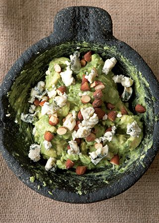 GUACAMOLE CON QUESO AZUL: Food Recipes, Blue Cheese, Guacamole Recipe ...
