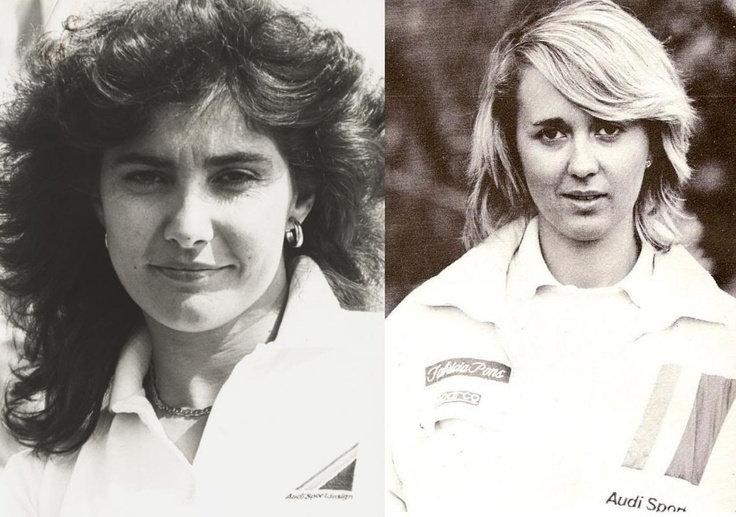 Michele Mouton and Fabrizia Pons