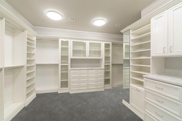 Walk In Closets | Custom | Classy Closets