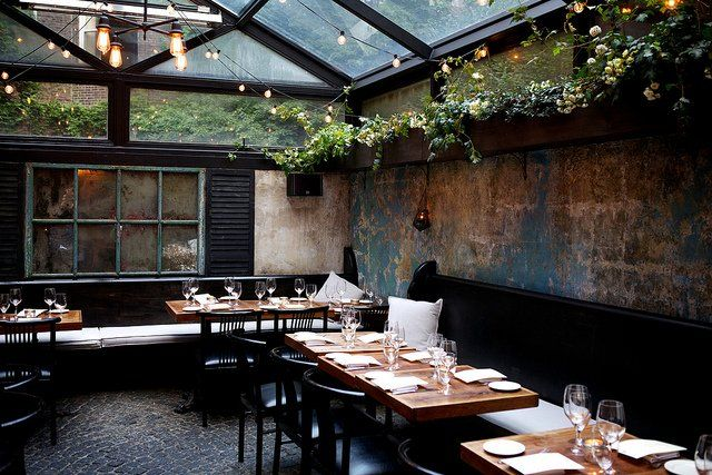 August restaurant of Pan-European cuisine, Bleeker St, NYC