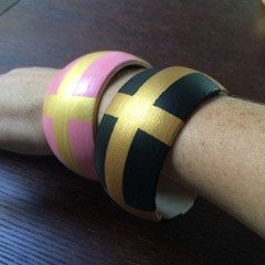 Hand painted wooden bangles by monkeychopshomewares on Etsy https://www.etsy.com/listing/230660471/hand-painted-wooden-bangles