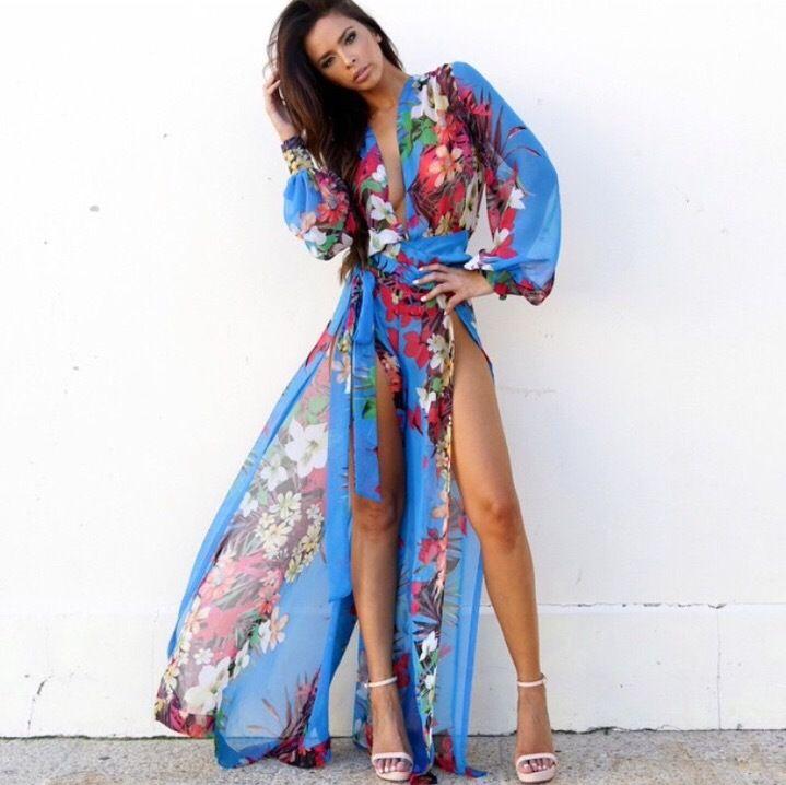 Luau Boho Dress Fashion Dresses Fashion Floral Maxi