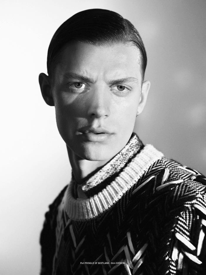 The Greatest #2 PHOTO FRANCESCO BRIGIDA FASHION EDITOR ELISA ANASTASINO GROOMING GIGI TAVELLI MODEL Janis Ancens @ L'UOMO ELITE