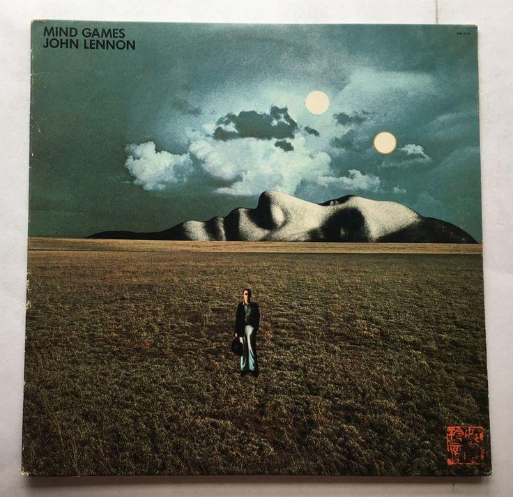 JOHN LENNON MIND GAMES VINYL 1973 APPLE RECORDS FREE SHIPPING LP SW-3414