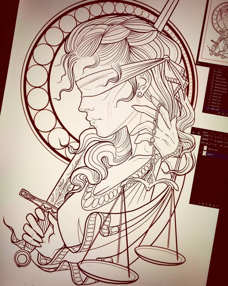 "Laura Marie on Instagram: ""Lady justice for Thom ⚔😁 #justice #ladyjustice…   – Justitia"