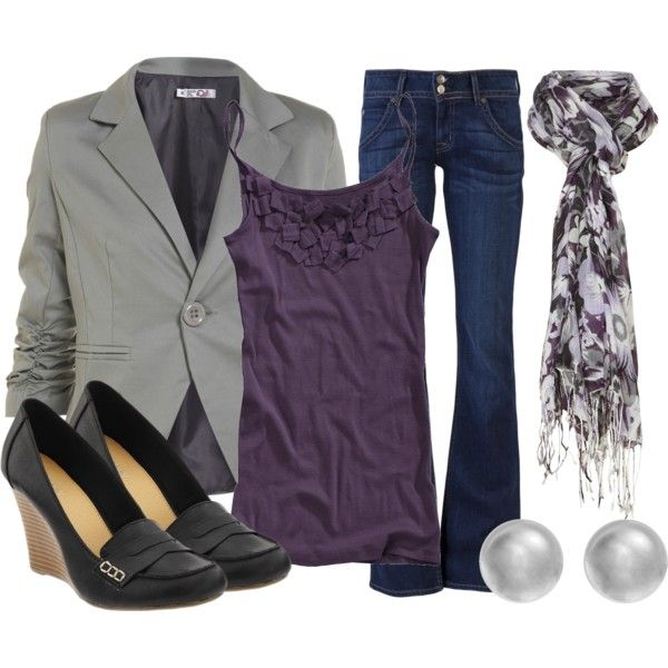 "I like how this one is described as a teacher's outfit.  ""Teacher, Teacher 86"" by qtpiekelso on Polyvore"