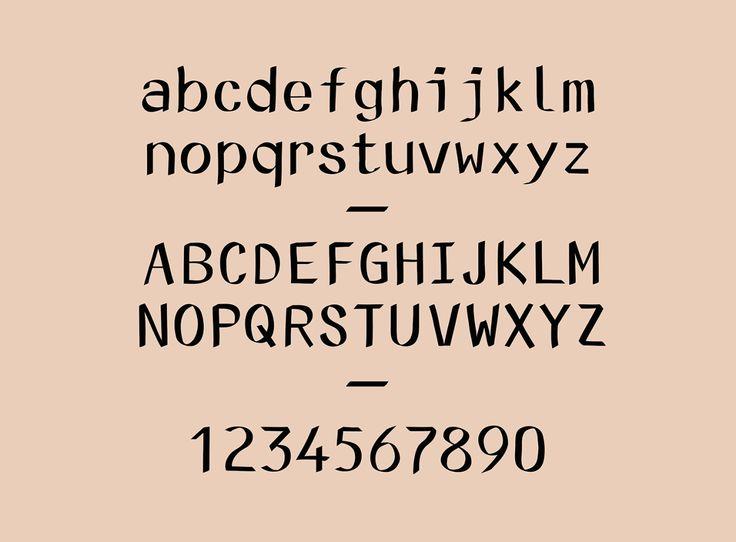 N Kinski typeface — april 2015