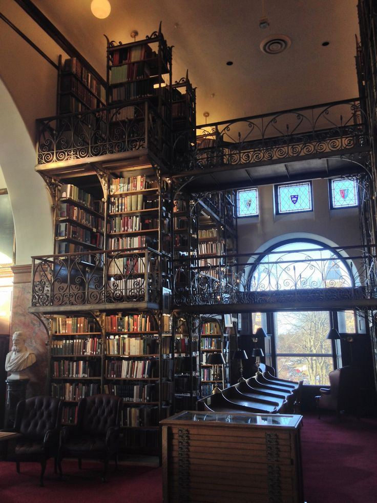 Wish I had one of those rooms that are bigger on the inside for something like this — AD White Library
