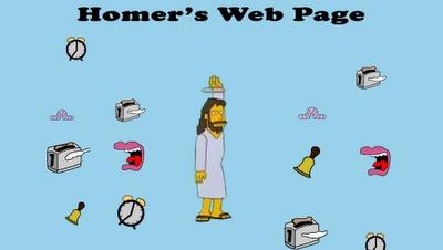 Curiosidades: La página de Homer Simpson