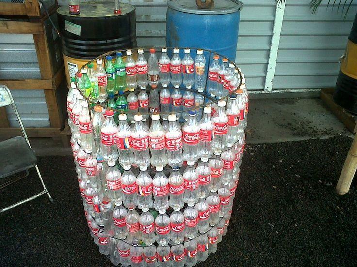 Resultado de imagen para tachos de botella de plastico