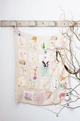 sweet + simple advent calendar. obsessed.