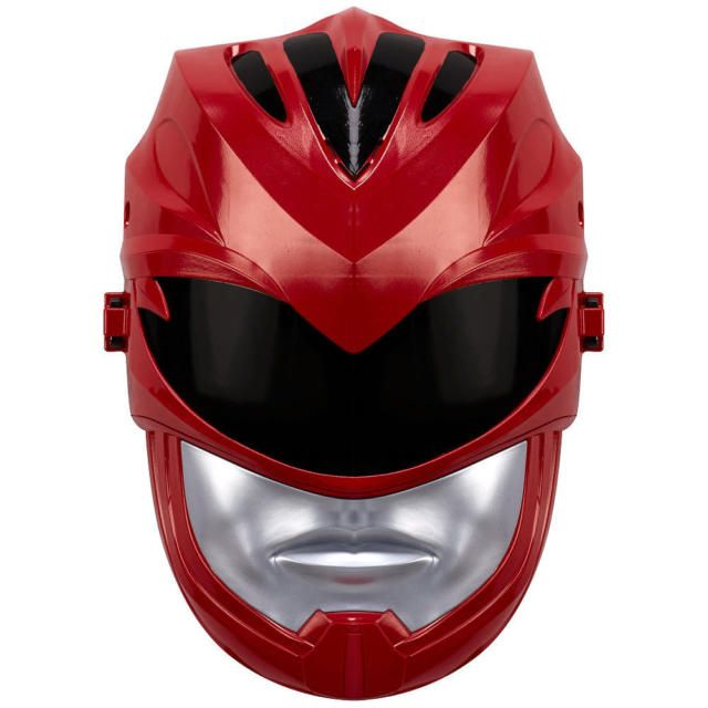 Mighty Morphin Power Rangers Movie Sound Effects Mask - Red Ranger