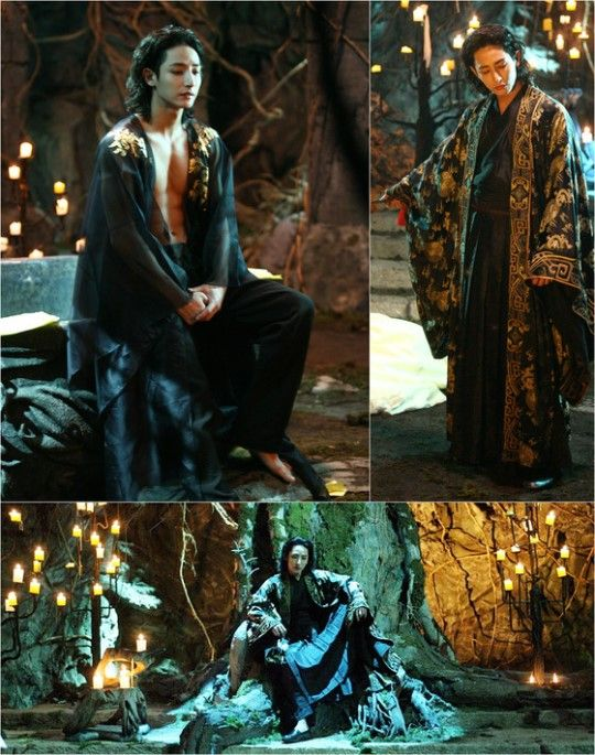 "Lee Soo Hyuk Is an Evil and Sexy Vampire in ""Scholar Who Walks the Night"" Stills"