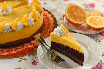 Igazi téli ízvilágú torta, amiben jól harmonizál a narancs és a csokoládé íze. Ez egy nagyobb 16 szeletes torta, ha valaki csak fél a...