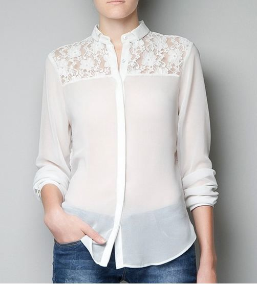 New stylish designer's blouse