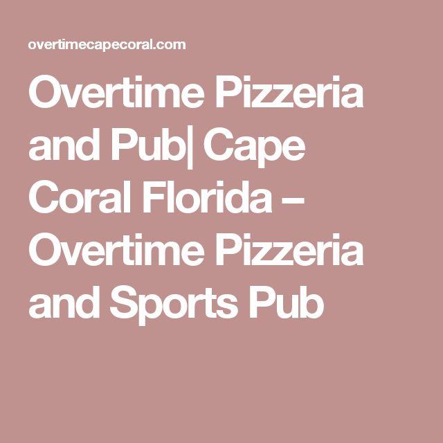 Sports Bars Cape Cod Part - 47: Overtime Pizzeria And Pub| Cape Coral Florida U2013 Overtime Pizzeria And Sports  Pub