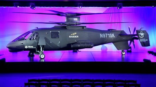The Sikorsky S-97 Raider that is intended to replace the US Army's OH-58D Kiowa Warrior he...