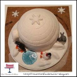 Gâteau Pingu
