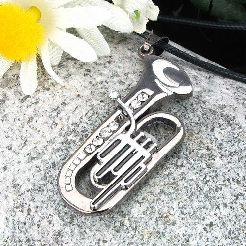 Pandantiv trompeta otel inoxidabil