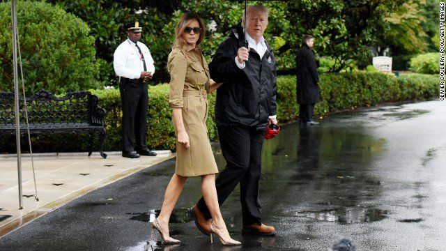 Trump makes second visit to Texas