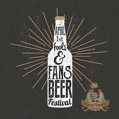 April Fools & Fans Beer Festival happening in Greyton. Well, I assume it is, it is slated for April 1st, after all.